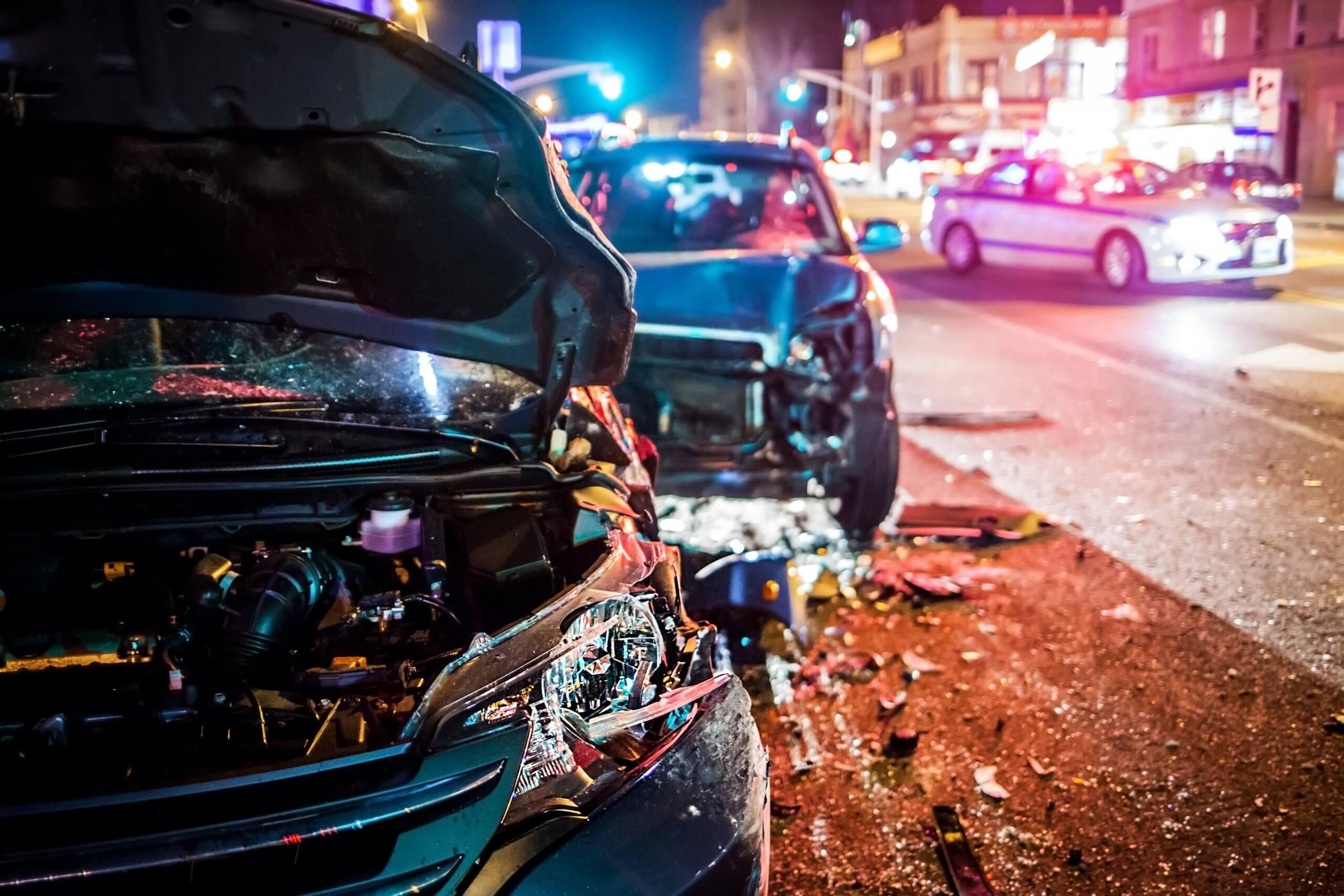 Speeding accident