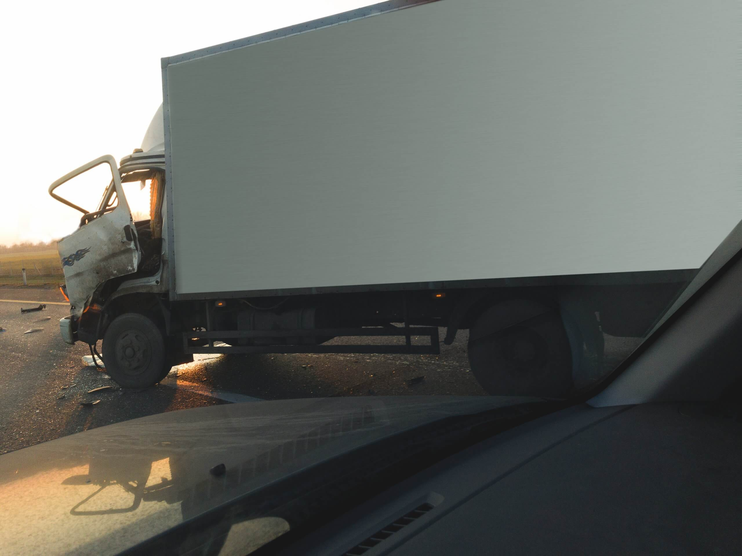 delivery truck accidents