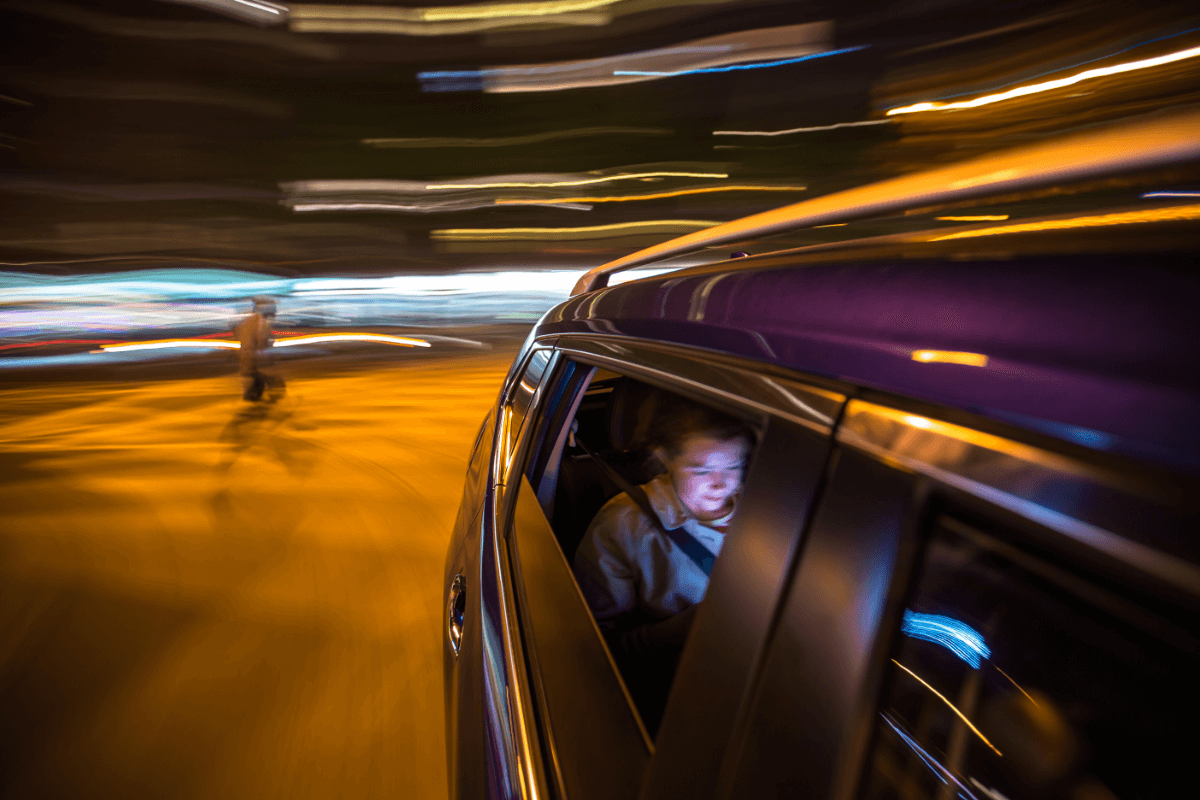 What to do after an accident in an uber